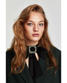 BOW NECKLACE WITH BROOCH-Jewellery-ACCESSORIES-WOMAN | ZARA United States