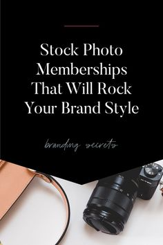 Sometimes in business, you don't have the budget you need to pull together a brand photo shoot. You can use stock photo memberships instead.