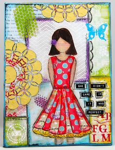 Creative with Quotes (Pink Paislee She Art) ~ Cupcake's Creations