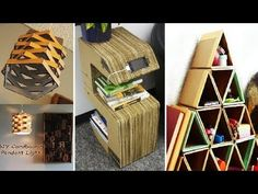 DIY ROOM DECOR! 29 Easy Crafts Ideas from cardboard for Teenagers