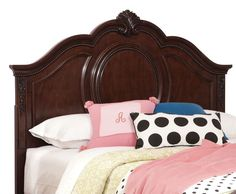 Kids Furniture - Jessica Twin Panel Headboard - Cherry