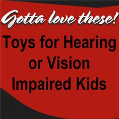 There are plenty of games and toys you can invest in that will help kids with impairments to be able to learn and have fun at the same time. Sensory Toys For Kids, Kids Toys, Sensory Integration, Help Kids, Investing, Games, Learning, Fun, Childhood Toys