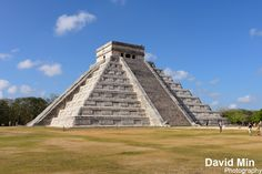 https://flic.kr/p/sQLFtk   Chichen Itza, Mexico - El Castillo   The stepped pyramids, temples, columned arcades, and other stone structures of Chichén Itzá were sacred to the Maya and a sophisticated urban center of their empire from A.D. 750 to 1200.  Viewed as a whole, the incredible complex reveals much about the Maya and Toltec vision of the universe—which was intimately tied to what was visible in the dark night skies of the Yucatán Peninsula.  The most recognizable structure here is…