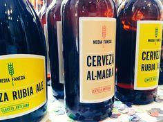 Cerveza artesana MEDIA FANEGA de Corral Rubio