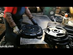 Tri Grip Rubber Coated Weight Plates Making Process from China Manufacturer - MANTA Watercolor Wallpaper Iphone, Barbell Weights, China, Plates, Gym, Youtube, Licence Plates, Dishes, Griddles