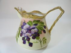 Antique Prussia Beyer & Bock Hand Painted