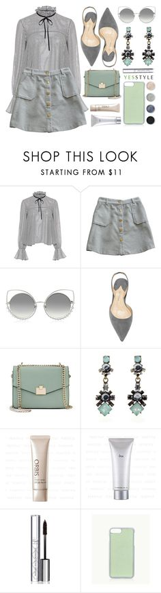 """""""YESSTYLE.com"""" by monmondefou ❤ liked on Polyvore featuring Saloni, Marc Jacobs, Jennifer Lopez, CC, By Terry, GiGi New York and Terre Mère"""
