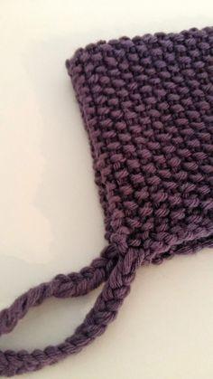 A la recherche d un modèle de bonnet facile (mais surtout rapide) à  tricoter pour ma puce, je suis tomber sur ce tuto chez Nanikaa , d un ...  Marie · Tricot cebec5119ae