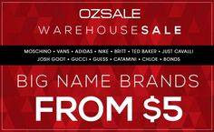 5a4948d160 Our Sydney warehouse sale starts this Saturday!