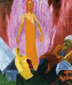 Emil Nolde - Auferstehung (Resurrection) (1912)