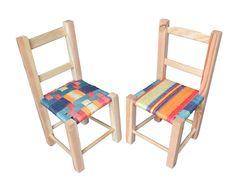 Children's chairs. Tequila Sunrise.