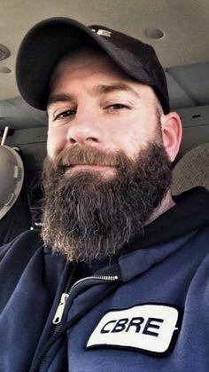 Beard And Mustache Styles, Beard Styles For Men, Beard No Mustache, Hair And Beard Styles, Handsome Bearded Men, Hairy Men, Men Beard, Shaved Head With Beard, Beard Head