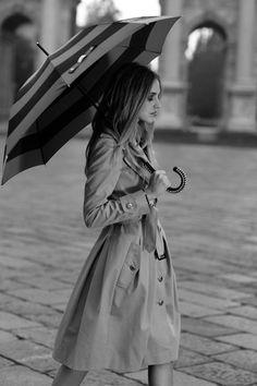 #love a rainy day  #Fashion #New #Nice #Coats #2dayslook  www.2dayslook.com