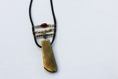 Golden Wheat Necklace