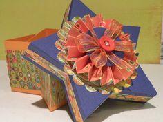 Paper Decorative Boxes Aquashoeside Brenda Walton Ballroom Slipper Die For Sizzix
