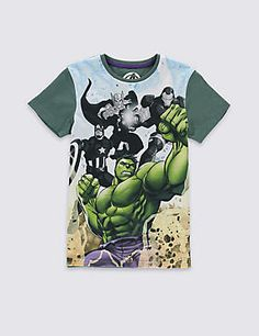 Hulk Avengers™ T-Shirt (5-16 Years)