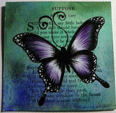 Original artwork and projects by Megan K. Spider Art, Art Journal Pages, Art Journaling, Live Happy, Art Journal Inspiration, Journal Ideas, Butterfly Art, Card Sketches, Make Art