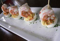 Seafood devil eggs | Shrimp Deviled Eggs