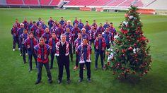 CHIVAS MANDA MENSAJE NAVIDEÑO    Las Chivas de Guadalajara grabó un video institucional donde mandan un mensaje navideño a toda su afición.
