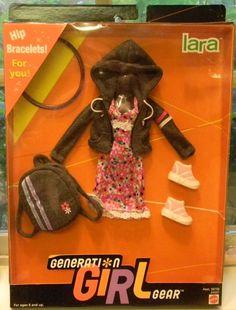 1999 Barbie Clothes Generation Girl Gear Lara Asst 26758