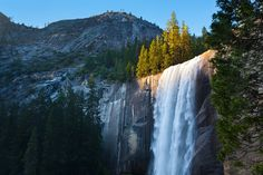 Vernal falls (California - USA) - Cataratas Vernal (California - USA)
