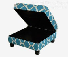 This would be great for storing coats in a hookah lounge! moroccan Decor Ideas   Natural Fibres Export: Ottomans