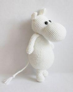 Amigurumi Moomintroll - free crochet pattern