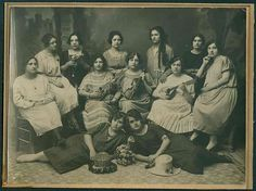 Hania Crete Greek womens string band 1910