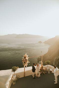 canavesoia-santorini-elopement_3 Beautiful Sunset, Beautiful Beaches, Imerovigli Santorini, Tiny Balcony, All Restaurants, Everlasting Love, Romantic Dinners, Most Romantic, Elopements