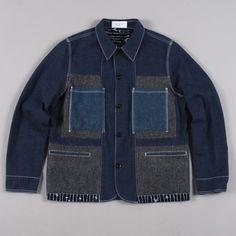 Paul Smith Patched Work Jacket - Indigo