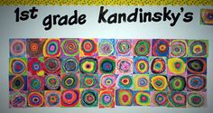 Kandinky 1st grade any grade this is cool!