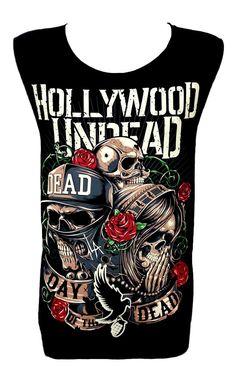 Hollywood Undead rock band tank top vest t-shirt fashion sleeveless tee Size M