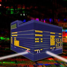 IBM links optics with silicon at the wafer fabrication level.