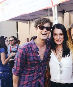 Matthew Gray Gubler + Paget Brewster