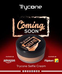 Get photogenic instantly with this selfie cream! Stay tuned. Coming soon!  #comingsoon #selfie #cream #selfiecream #staytuned #trycone #tryconegroup