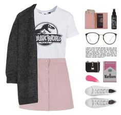 """""""A little bit of pink"""" by starit ❤ liked on Polyvore featuring New Look, Isabel Marant, Linda Farrow, Royce Leather, Kat Von D, Valentino and Burberry"""