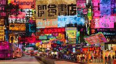 Taxi Stop Hong Kong - Sandra Rauch - pictures, photography, photo art online at LUMAS