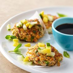 Quick And Easy Vegetarian Dinners Like These Herbed Tofu Cakes!