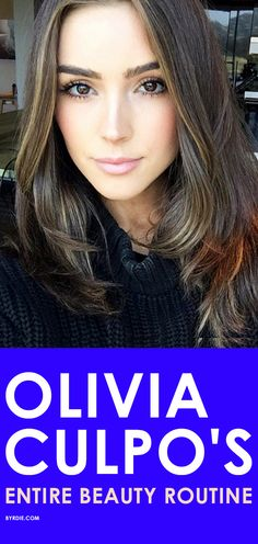 Olivia Culpo shares her shower, hair, and makeup routine