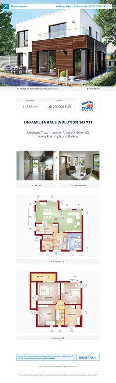 Einfamilienhaus EVOLUTION 143 V11