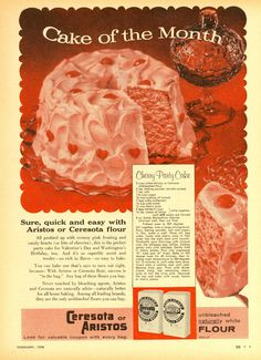 vintage recipes with pictures at DuckDuckGo Retro Recipes, Old Recipes, Vintage Recipes, Cooking Recipes, Blender Recipes, Vintage Baking, Vintage Food, Retro Food, Vintage Cakes
