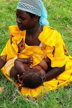 Mama Africa, beauty mixed with love at its best