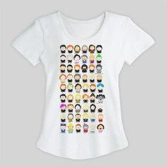 camiseta feminina harry potter south park ( frete grátis )