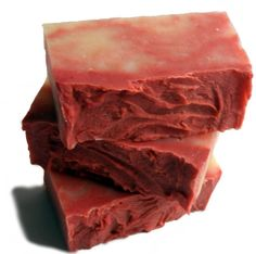 Vanilla Pomegranate Soap Bar with Vitamin E Oil