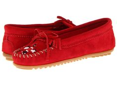 I had some of these as a little girl!  Minnetonka Thunderbird II Cherry Red - 6pm.com