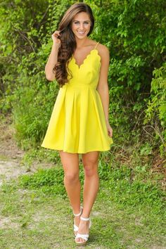 A-line V-Neck Yellow Spaghetti Straps Ruched Homecoming Dress,Mini Satin Party Dresses,N337