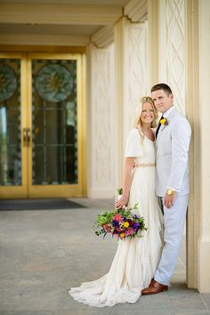 Gilbert Arizona Temple wedding