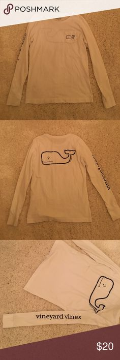 Vineyard Vines Long Sleeve White long sleeve tee shirt. Vineyard Vines Tops Tees - Long Sleeve