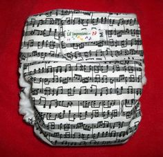 Music Cloth Diaper <3