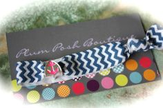 Hot Pink Anchor Knotted Hair Tie Nautical Gal   Add to by PlumPosh, $3.50